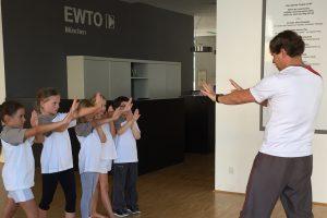 Selbstverteidigung Kids Wingtsun EWTO München