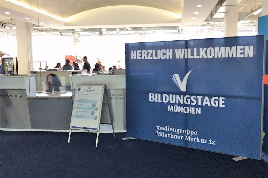 Akademie München auf Bildungsmesse 2017