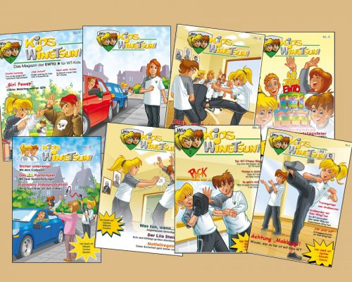 Kids-WingTsun Magazine