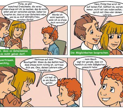 Der sicherer Schulweg
